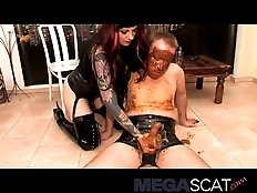 Anal sex with scatqueen Veronica Moser