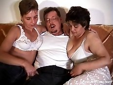 Two female bitches and lonely scat lover